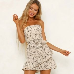 Heart On Fire Dress - NWOT (Sold out online)